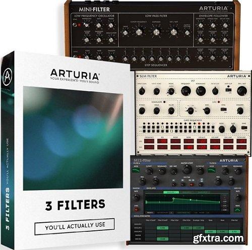 Arturia 3 Filters v1.1.0-R2R