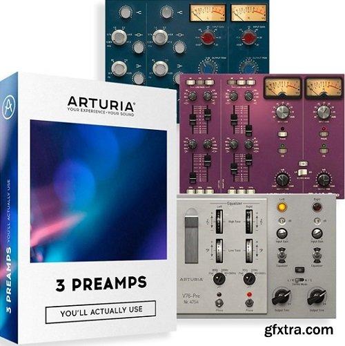 Arturia 3 Preamps v1.1.0-R2R