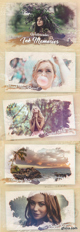 Videohive - Watercolor Ink Memories - 20690338