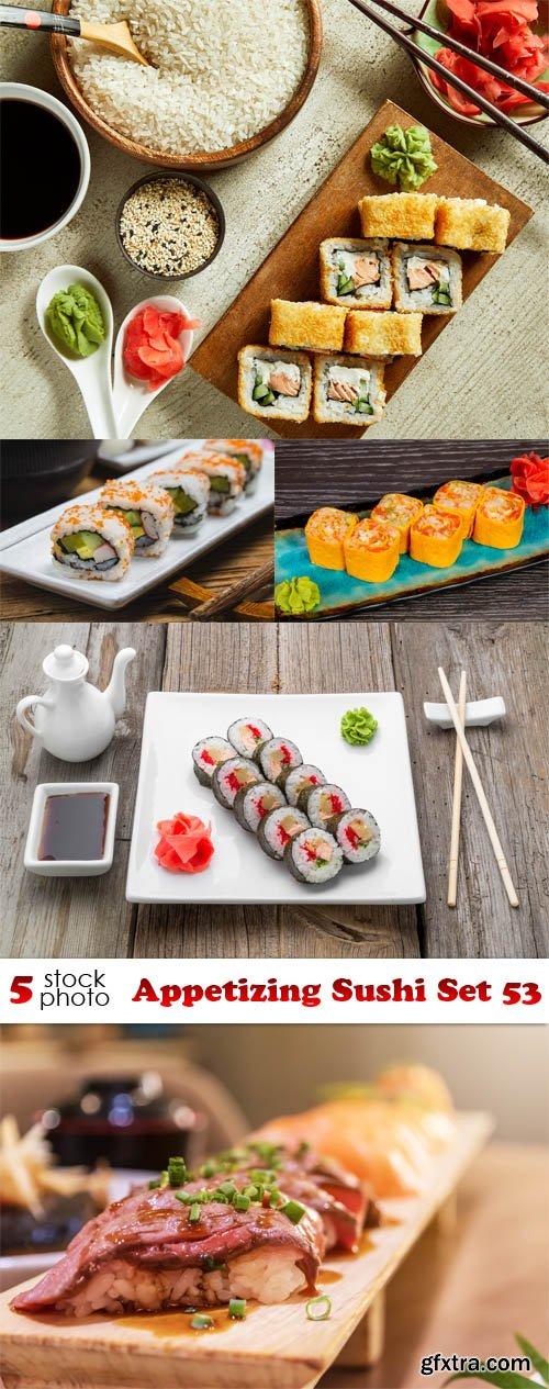 Photos - Appetizing Sushi Set 53