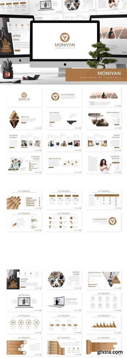 Moniyan - Powerpoint, Keynote, Google Sliders Templates