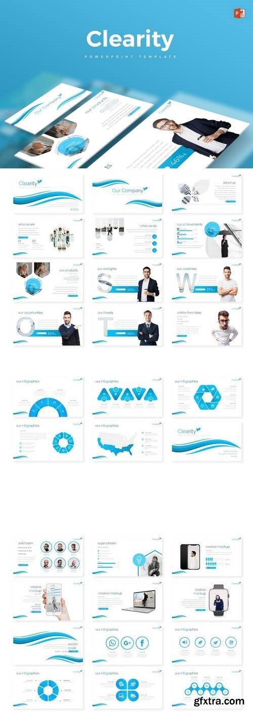 Clearity - Powerpoint, Keynote, Google Sliders Templates