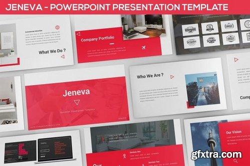Jeneva - Powerpoint Presentation Template