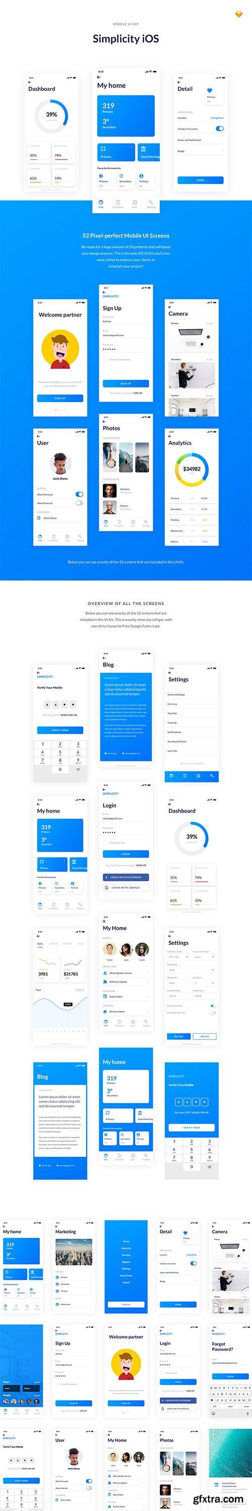 Simplicity iOS