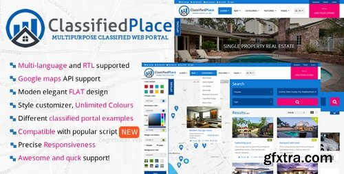 ThemeForest - Real Estate v1.0 - Geo Classified Ads 19165145