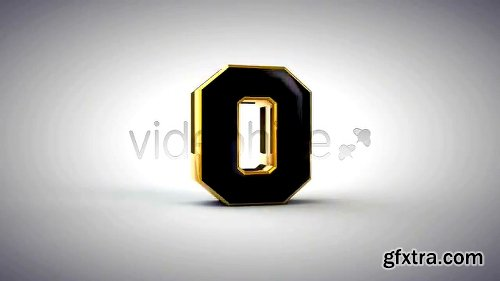 Videohive Stylish 3D Countdown 1686688
