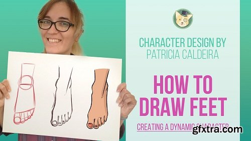 How To Draw Feet Step By Step!