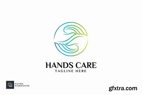 Hands Care - Logo Template