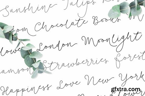 CM - Soft Whisperings Font and 100 Extras 2327294