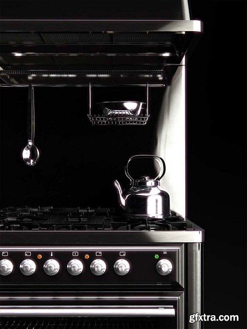 iLVE Majestic MT-90 Kitchen