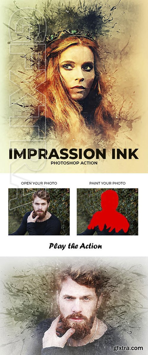 GraphicRiver - Impression Ink Photoshop Action 22646467