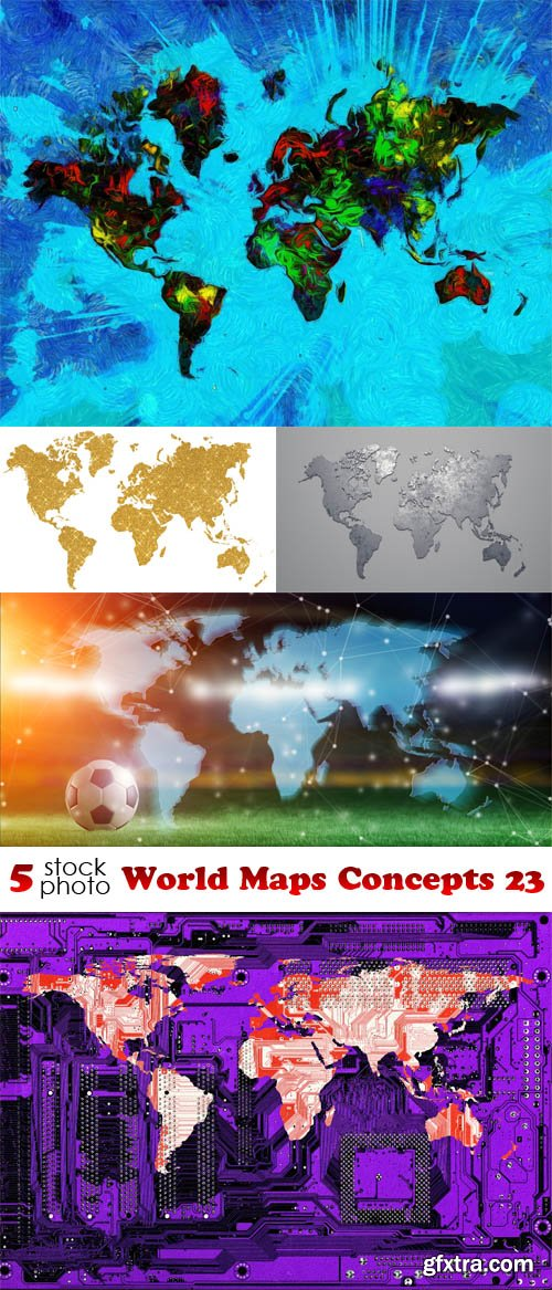 Photos - World Maps Concepts 23