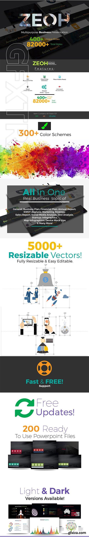 CreativeMarket - 82000 Powerpoint Presentation Slides 3017113