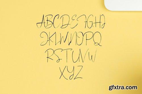 CM - Bellinor A Hand Drawn Signature Font 2262564