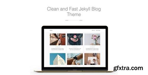 ThemeForest - Midan v1.1.5 - Clean and Fast Jekyll Blog Theme - 17159216