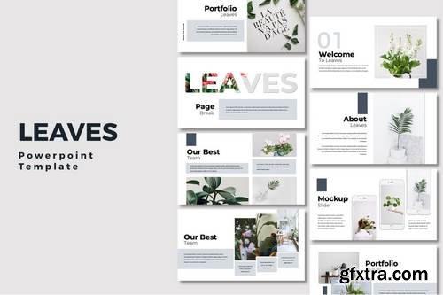 Leaves  - Powerpoint, Keynote, Google Sliders Templates