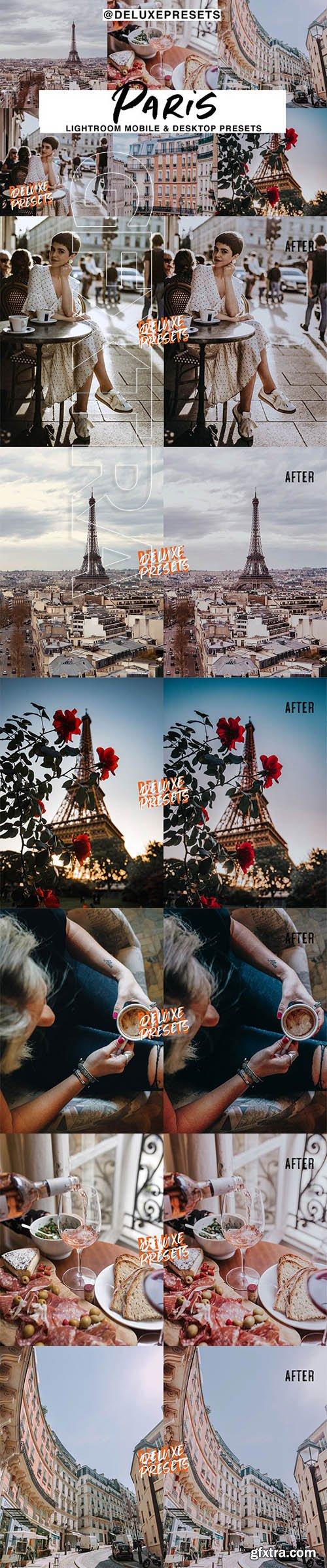 CreativeMarket - Paris Lightroom Preset 2968648