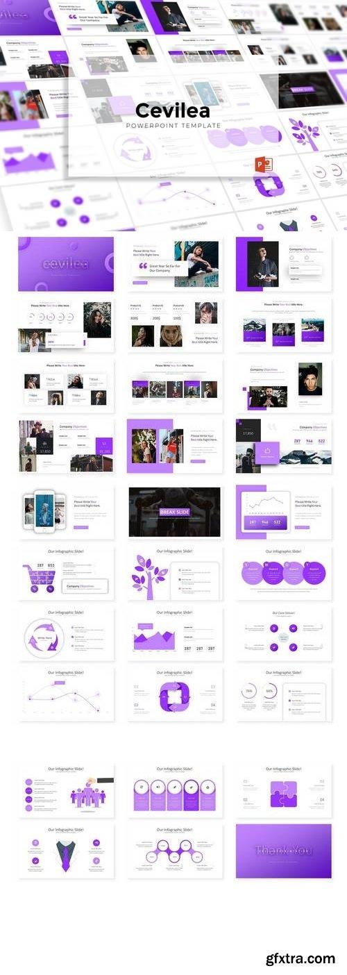 Cevilea  - Powerpoint, Keynote, Google Sliders Templates