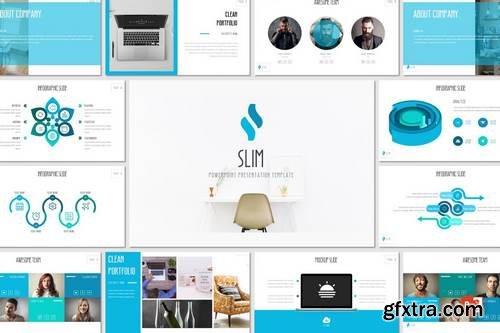 SLIM - Powerpoint Template