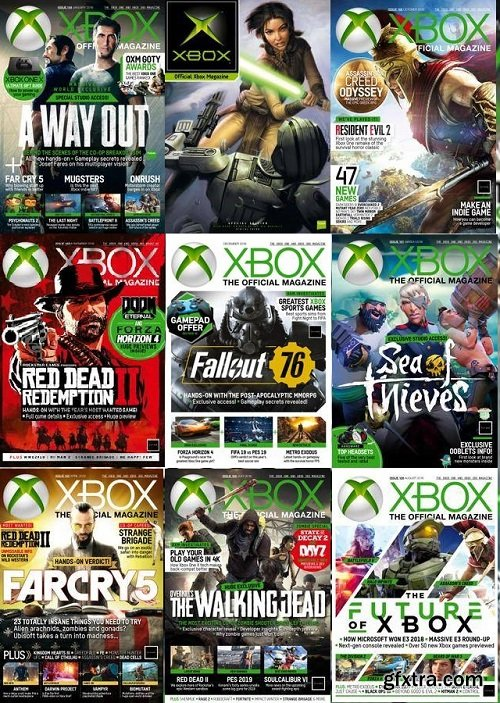 Xbox: The Official Magazine UK - 2018 Full Year Issues Collection