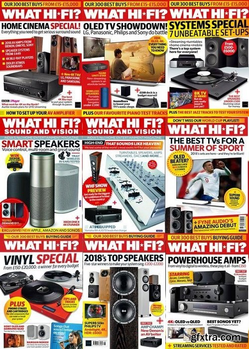 What Hi-Fi? UK - 2018 Full Year Issues Collection