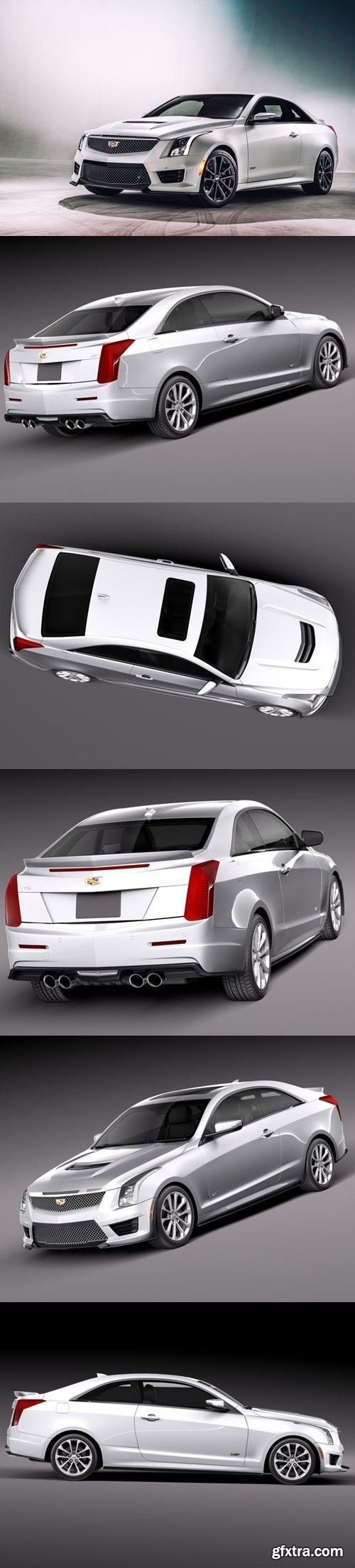 Cadillac ATSV 2016 3D Model