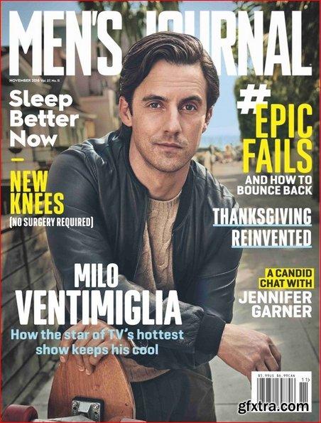 Men\'s Journal - November 2018