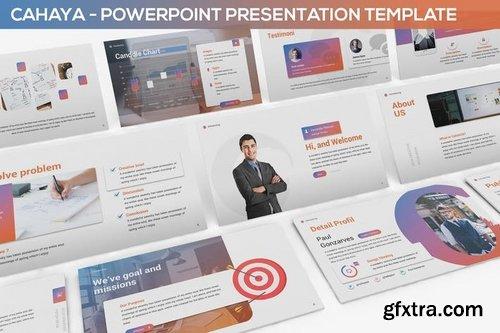 Cahaya - Duotone Powerpoint Template