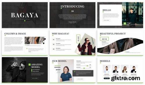Bagaya - Fashion Powerpoint Template