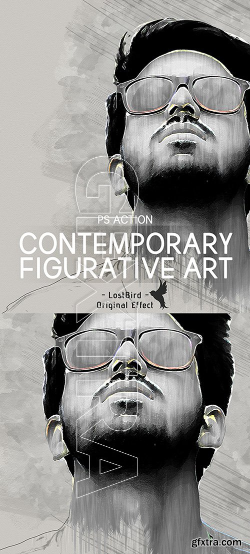 GraphicRiver - Contemporary Figurative Art - Photoshop Action 22657745