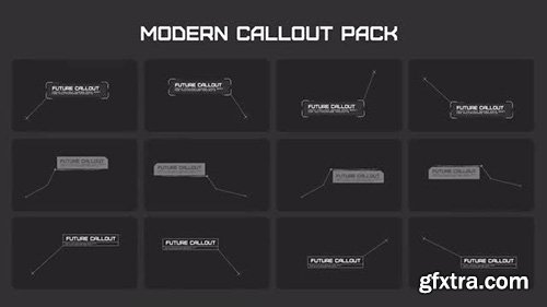 Modern Callout Pack - After Effects 126251