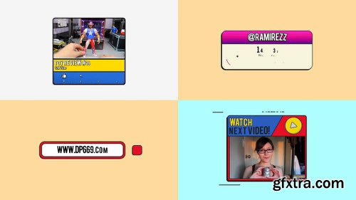 Videohive The YouTuber Pack - Comic Edition V3.0 22745238