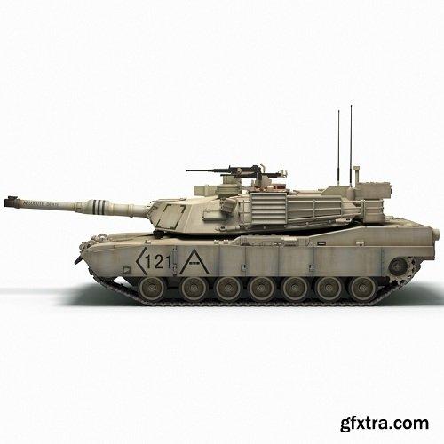 Tank M1A2 Abrams