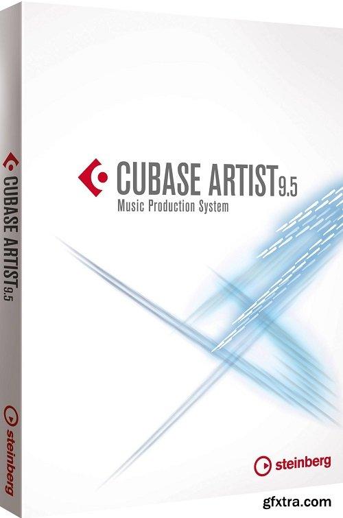 Steinberg Cubase Artist v9.5.40 X64 MacOSX-iND