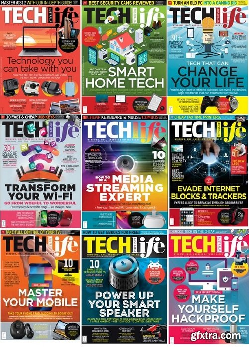 TechLife Australia - 2018 Full Year Issues Collection