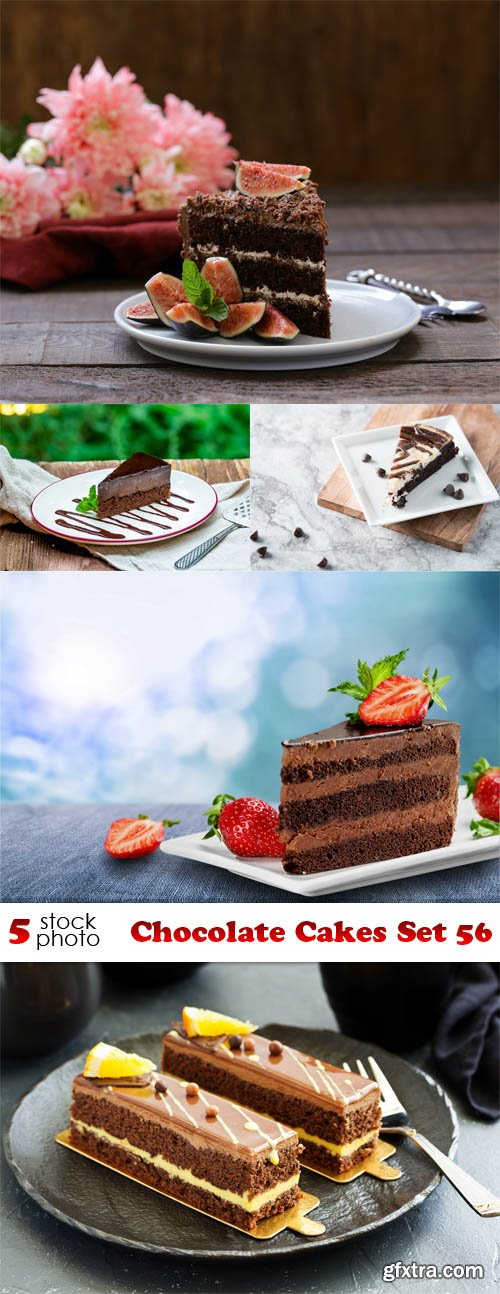 Photos - Chocolate Cakes Set 56