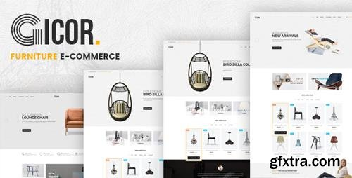 ThemeForest - Gicor v1.0 - Furniture OpenCart Theme (Included Color Swatches) - 22711077