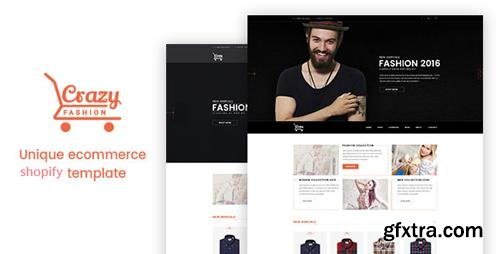 ThemeForest - Crazy Fashion - Shopify Responsive Theme (Update: 3 November 16) - 18066924