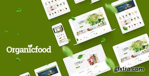 ThemeForest - OrganicFood v1.0 - Food, Alcohol, Cosmetics OpenCart Theme (Included Color Swatches) - 22728869