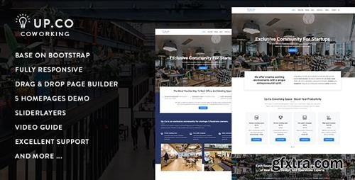 ThemeForest - Up.Co v1.0 - Creative Office Space & Business Drupal 8.5 Theme - 21756367