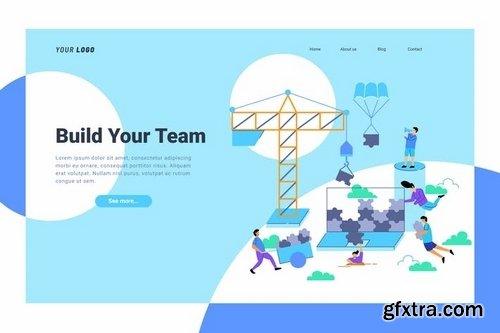 Team Building - Landing Page