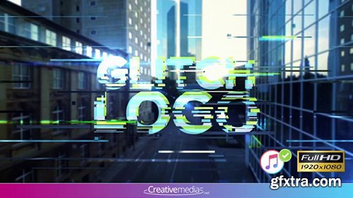 Pond5 - Glitch Logo Reveal – After Effects Template 096285653