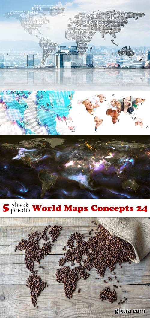 Photos - World Maps Concepts 24