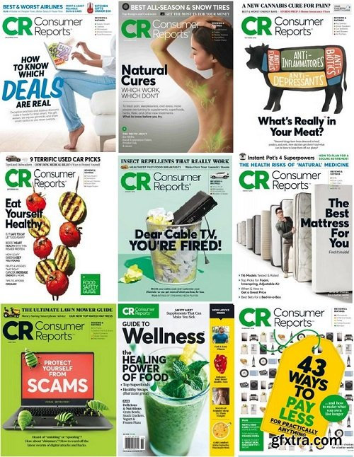 Consumer Reports - 2018 Full Year Issues Collection