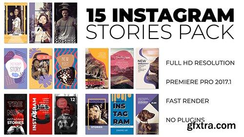 Instagram Stories Pack - Premiere Pro Templates 134349