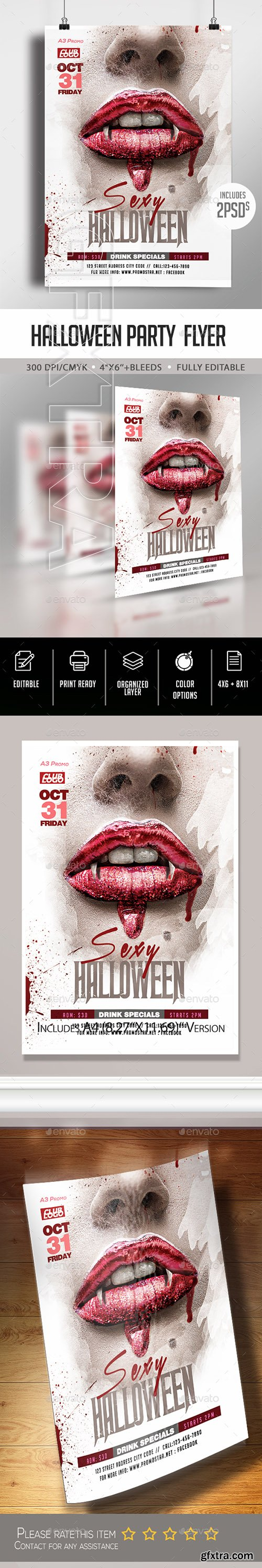 GraphicRiver - Halloween Party Flyer 22675737