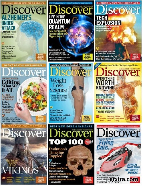 Discover - Full Year Issues Collection 2018