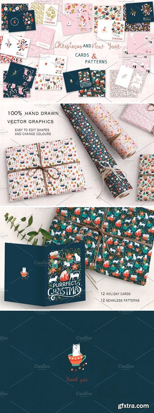 CM - Christmas cards and patterns 3083944