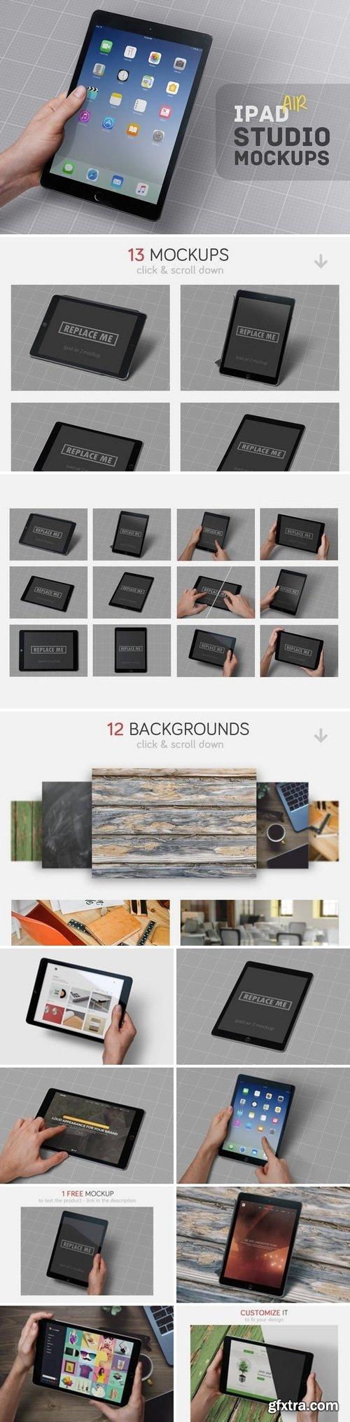 CM - iPad Air Studio Mockups 1306667