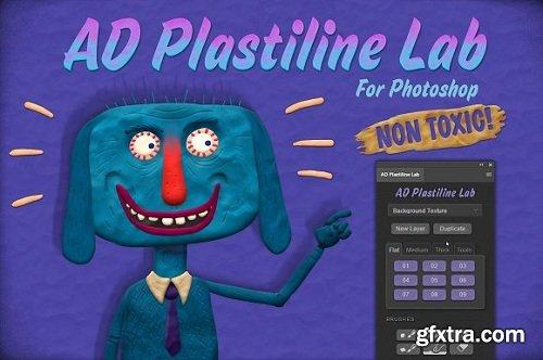 AD Plastiline Lab for Photoshop (Win/MacOS)